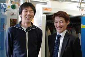 お客様と和田